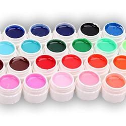 Χρωματιστά Τζελ