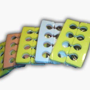 Διαχωριστικό δακτύλων για πεντικιούρ
