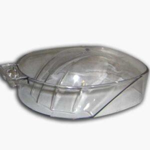 Πλαστικό διάφανο δοχείο για μανικιούρ